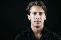 Портрет красивого человека Стоковая Фотография