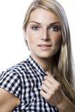 Портрет красивое белокурого Стоковое Изображение RF