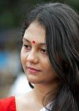 Портрет красивой бенгальской девушки Стоковое Изображение RF