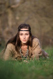 Портрет красивой девушки Стоковая Фотография RF