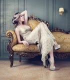 Портрет красивой женщины стоковая фотография