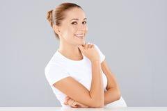 Портрет красивой женщины Стоковое Фото