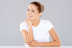 Портрет красивой женщины Стоковые Фото