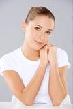 Портрет красивой женщины Стоковое фото RF