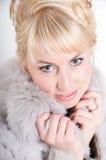 Портрет красивой женщины Стоковая Фотография RF