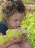 Портрет красивой маленькой девочки стоковое изображение