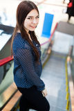 Портрет красивой молодой сексуальной женщины Стоковая Фотография RF