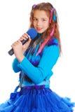 Портрет красивой предназначенной для подростков девушки европейского возникновения Стоковое Изображение RF