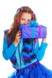 Портрет красивой предназначенной для подростков девушки европейского возникновения Стоковые Изображения RF