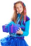 Портрет красивой предназначенной для подростков девушки европейского возникновения Стоковые Изображения