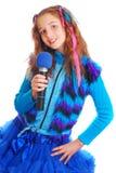 Портрет красивой предназначенной для подростков девушки европейского возникновения Стоковая Фотография