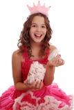 Портрет красивой предназначенной для подростков девушки европейского возникновения Стоковое фото RF