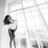 Портрет красивой тонкой сексуальной милой девушки Стоковое Фото