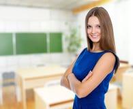 Портрет красивой уверенно бизнес-леди Стоковое фото RF