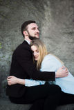 Портрет красивой любящей пары Стоковое Изображение
