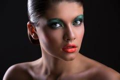 Портрет красотки девушки Стоковое фото RF