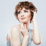 Портрет красотки женщины Стоковые Изображения RF
