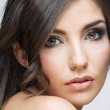 Портрет красотки женщины Стоковое Изображение
