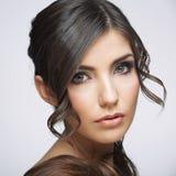 Портрет красотки женщины Стоковые Фото