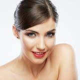 Портрет красотки женщины Стоковые Фотографии RF