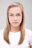 портрет красотки лицевой естественный Стоковые Фото