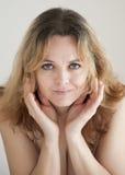 Портрет красотки женщины стоковые изображения