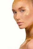 Портрет красоты милой симпатичной молодой женщины Стоковая Фотография RF