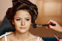 Портрет красоты молодой и привлекательной женщины Стоковые Фото