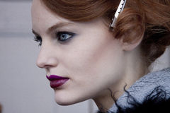 Портрет красоты фотомодели в Нью-Йорке Стоковые Фото