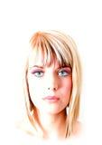 Портрет красоты Стоковое Фото
