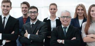 Портрет крупного плана ведущей команды дела Стоковое Фото