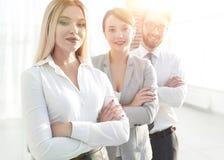 Портрет крупного плана успешной команды дела Концепция дела Стоковые Фотографии RF