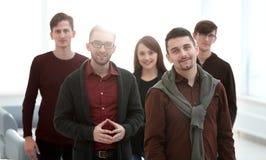 Портрет крупного плана успешной команды дела стоковое изображение rf