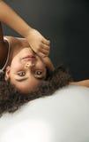 Портрет крупного плана маленького артиста балета Стоковое фото RF