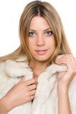 Портрет крупного плана симпатичной девушки стоковые фотографии rf