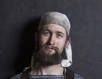 Портрет кузнеца Стоковое Фото