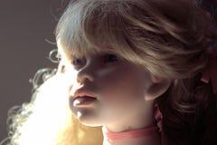 Портрет куклы фарфора Стоковое Фото