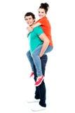 Портрет любящих пар наслаждаясь совместно стоковое фото rf