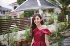 Портрет малайзийской девушки стоковые фотографии rf