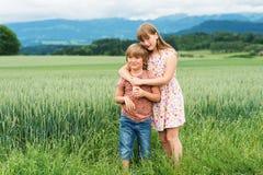 Портрет маленьких ребеят Стоковое Фото