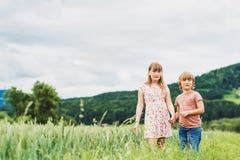 Портрет маленьких ребеят Стоковые Фото