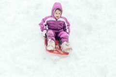 Портрет маленького ребенка внешнего стоковое фото