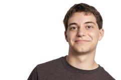 портрет мальчика красивый предназначенный для подростков Стоковая Фотография