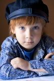 портрет мальчика красивый стоковое изображение