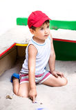 Портрет мальчика лет 3-4 Стоковое Изображение