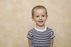 портрет мальчика милый Стоковое Изображение