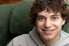 портрет мальчика предназначенный для подростков Стоковое Изображение