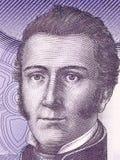 Портрет Манюэля Родригеса Erdoiza стоковые фото