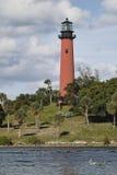 портрет маяка Юпитера Стоковое фото RF