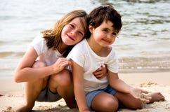 Портрет маленьких девочек Стоковое Фото